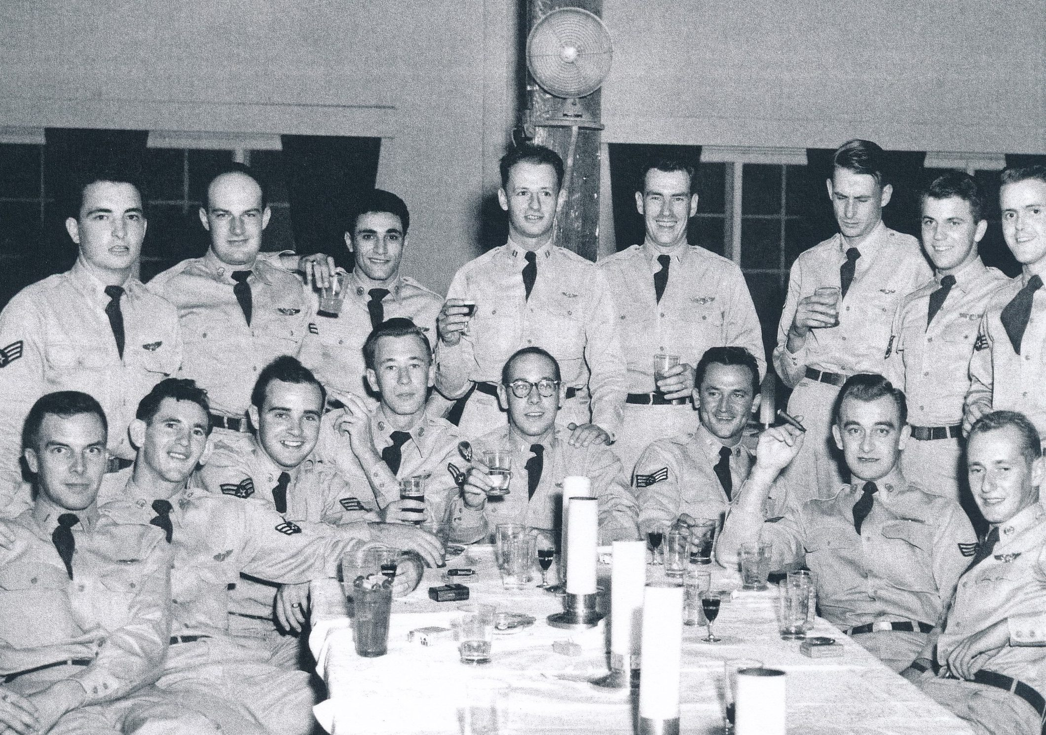 Liner Picture, Group of Service Men